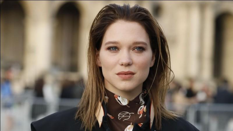 """Cette actrice, qui a joué dans """"La Vie d'Adèle"""" et dans """"007 Spectre"""", se prénomme ..."""