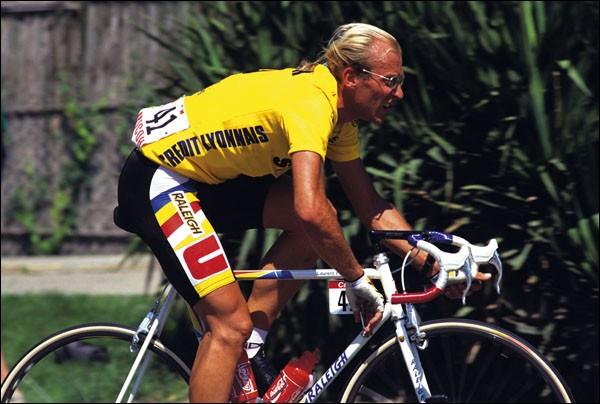 Ce cycliste, qui a remporté deux Tours de France, en 1983 et 1984, et le Tour d'Italie en 1989, se prénomme ...