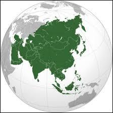 La Japon et la Chine se situent en Asie.