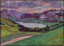 """Qui a peint """"Lac de Thoune"""" ?"""