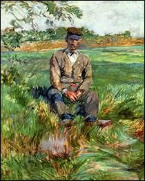 """Qui a peint """"Un ouvrier chez Celeyran"""" ?"""