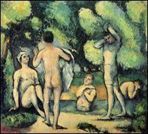 "Qui a peint ""Les baigneurs"" ?"