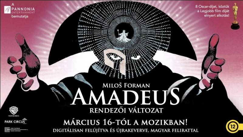 """En quelle année le film """"Amadeus"""" réalisé par Milos Forman sortit-il sur les écrans de cinéma ?"""