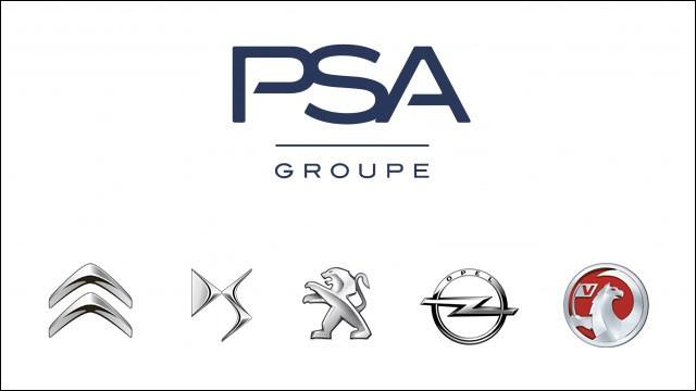 En quelle année Peugeot et Citroën ont fusionné pour former le groupe PSA ?