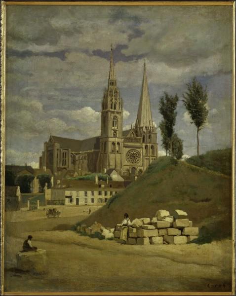 La ville de Chartres est surnommée capitale...