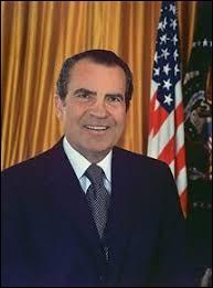Qui était le président des États-Unis de 1969 à 1974 ?