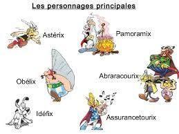 Personnages Astérix : vrai ou faux. (5)