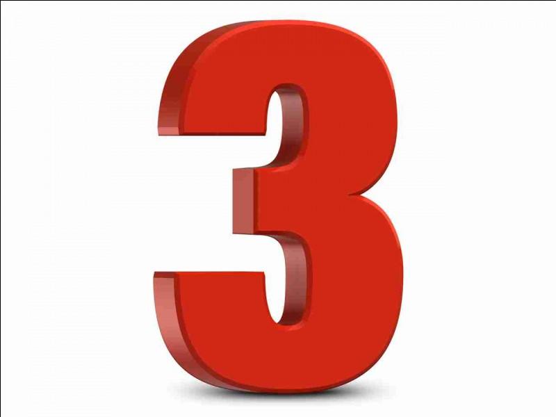 """Comment dit-on """"trois"""" ?"""