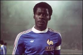 Ce footballeur, qui a évolué comme défenseur à Marseille et à Bordeaux, a joué en équipe de France de 1971 à 1983. C'est ... Trésor.