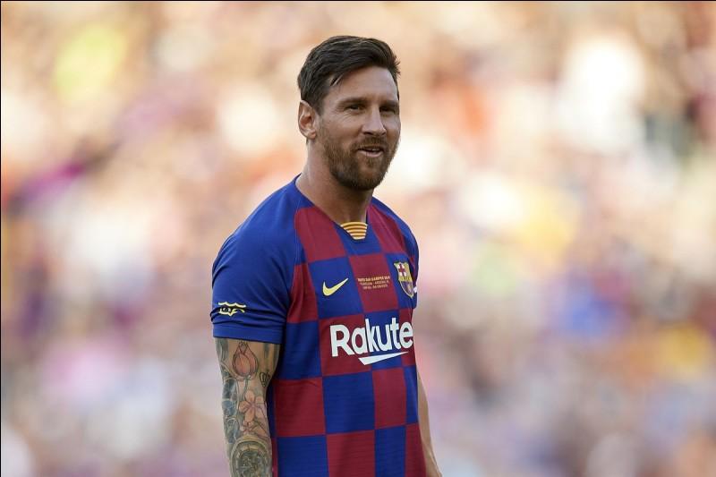 Quelle est la date de naissance de Lionel Messi ?