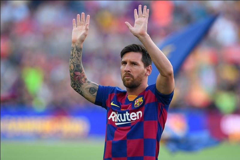 Combien de fois Lionel Messi a-t-il remporté le Ballon d'or ?