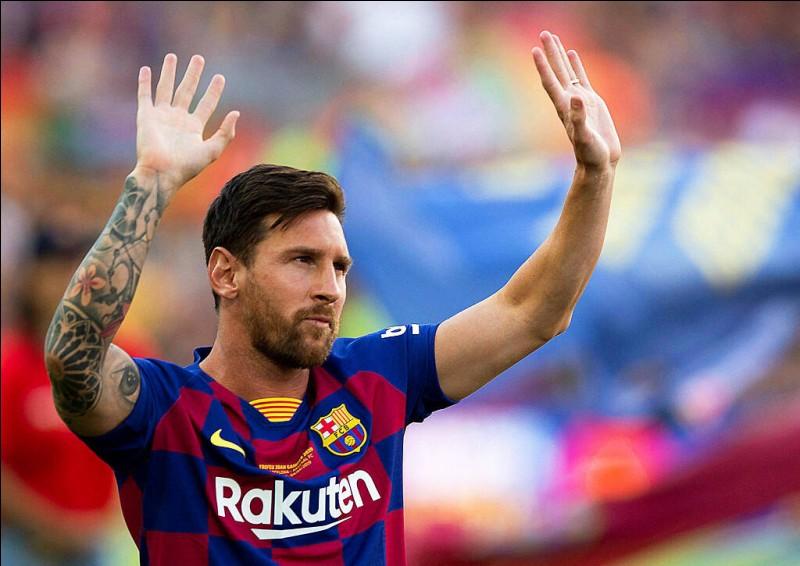 Quel est le pied le plus fort de Lionel Messi ?