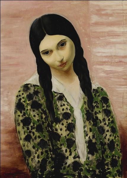 """Quel peintre du début XXe a réalisé le tableau """"La jeune fille aux nattes"""" ?"""