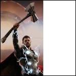 Comment s'appelle la hache de Thor ?
