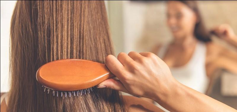 En moyenne, combien de cheveux un individu perd-il de cheveux par jour ?