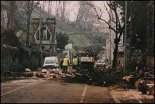 Quelle est la valeur maximale enregistrée lors du passage de la tempête Martin (celle du 27 décembre 1999) ?