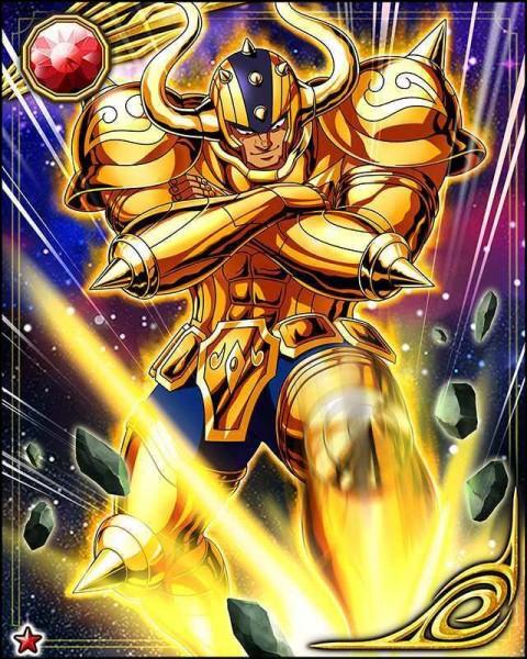 Quel est le nom du Chevalier d'Or du Taureau ?