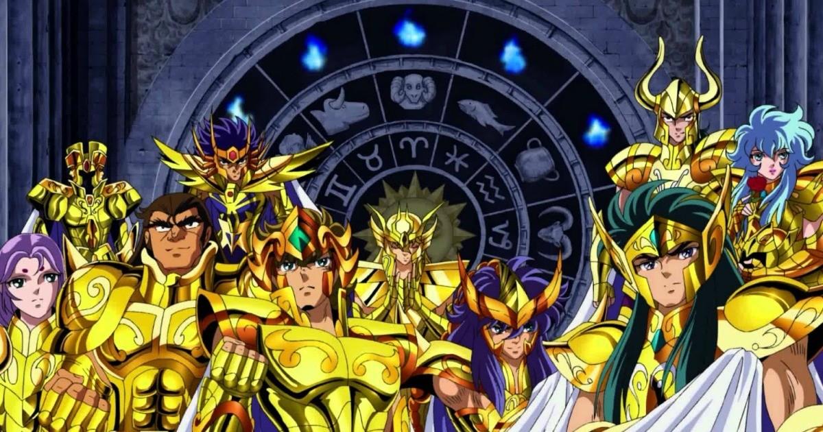 Saint Seiya - Les Chevaliers d'Or du zodiaque et leur signe