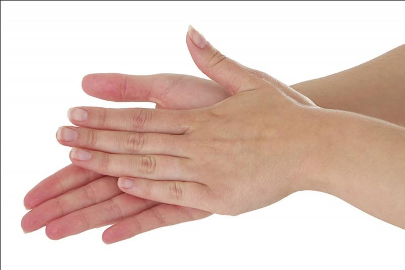 Combien de fois par jour te laves-tu les mains ?