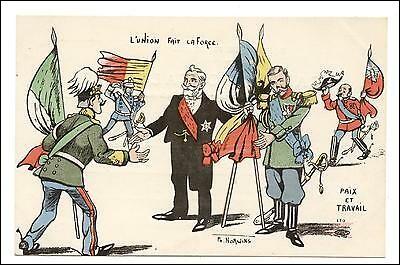 Même question pour la Triple-Entente.