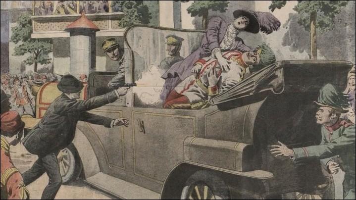 Quand eut lieu l'assassinat de l'archiduc François-Ferdinand et de son épouse, le premier étant l'héritier de l'Empire austro-hongrois ?