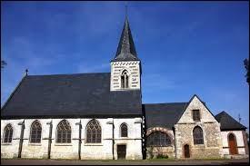 Voici l'église Notre-Dame de Bouville. Commune Seinomarine, elle se situe en région ...
