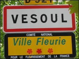 Vesoul est la préfecture de la Saône-et-Loire.