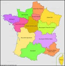 Avec la réforme territoriale de 2016, les régions Bourgogne-Franche-Comté et Île-de-France comportent le même nombre de départements.