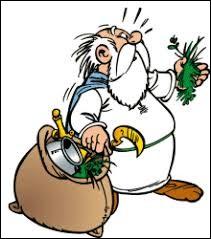 Septantesix est l'inventeur d'une potion permettant de faire pousser de fleurs hors saison.