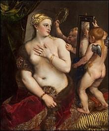 """Qui a peint """"Vénus au miroir"""" ?"""