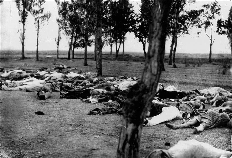 Quel peuple fut victime d'un terrible génocide ?