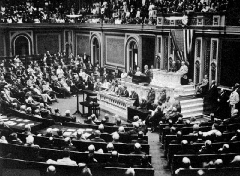 Parmi ces évènements, lequel ne fut pas un facteur de l'entrée en guerre des États-Unis ?