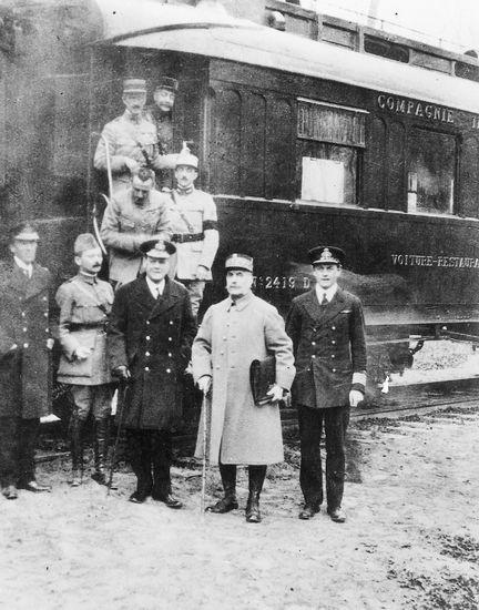 La Première Guerre mondiale (1917-1918)