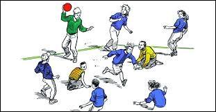 Vrai ou faux ? - La balle assise est un sport en Amérique.