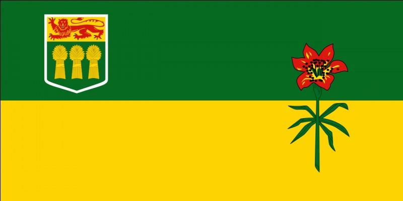 Quelle est la capitale de la province ou du territoire arborant ce drapeau ?