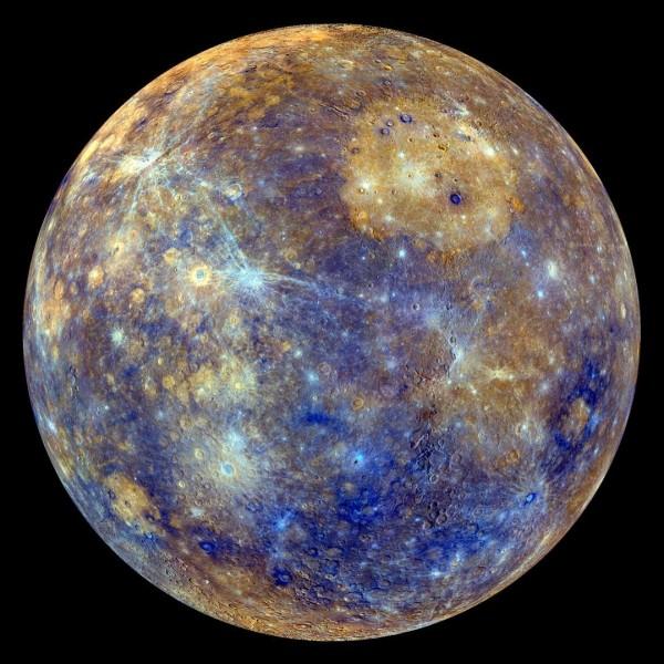 La Terre prend 24 h pour faire un tour sur elle-même, combien de temps prend Mercure pour faire un tour sur elle-même ?