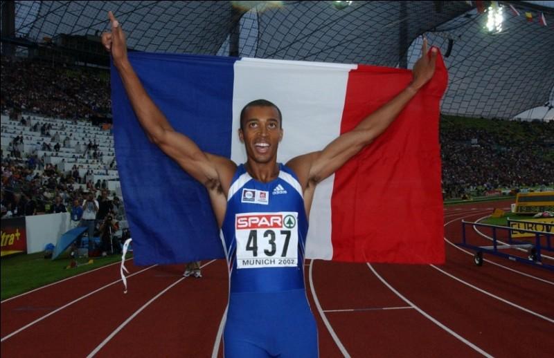 Cet athlète, champion du monde sur 400 m haies en 1997, se prénomme ...