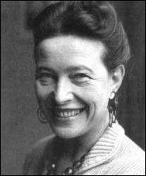 """Cette femme de lettres et philosophe, auteur de l'essai """"Le Deuxième Sexe"""" en 1949, prix Goncourt pour """"Les Mandarins"""" en 1954, se prénomme ..."""