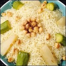 C'est un plat purement algérien.