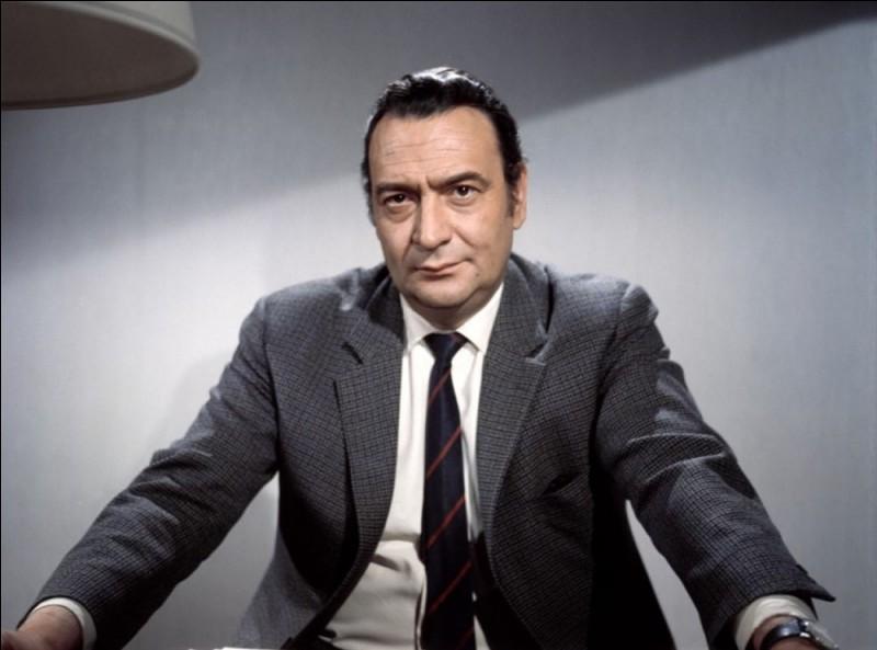 """Il était le colonel dans """"Z"""", Simon Boccace dans """"Borsalino"""" et on l'a vu aussi dans """"L'Incorrigible"""", """"Adieu poulet"""" et """"Mado"""". C'est ..."""