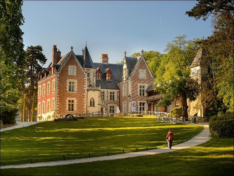 Dans quelle ville française se situe le célèbre château du Clos-Lucé ?