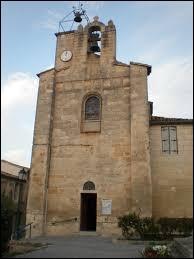 Vous avez sur cette image l'église Saint-Martin de Sussargues. Ville de la métropole Montpelliéraine, elle se situe ...