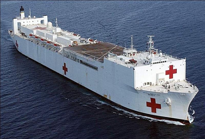 C'est un véritable hôpital flottant, il dispose des mêmes équipements qu'un centre hospitalier de ville ! Quel pays a ce navire ?