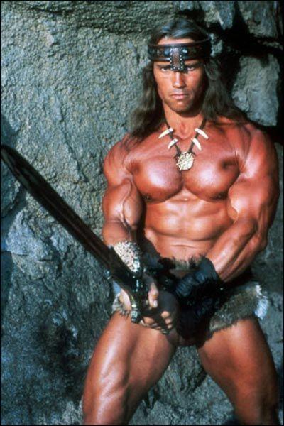 Quels beaux muscles, Arnold, c'est ...