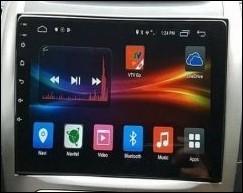 Sur le tableau de bord, cet écran me permet de contrôler le véhicule (diffusion de musique, appel en Bluetooth...). Combien d'icônes voyez-vous ?