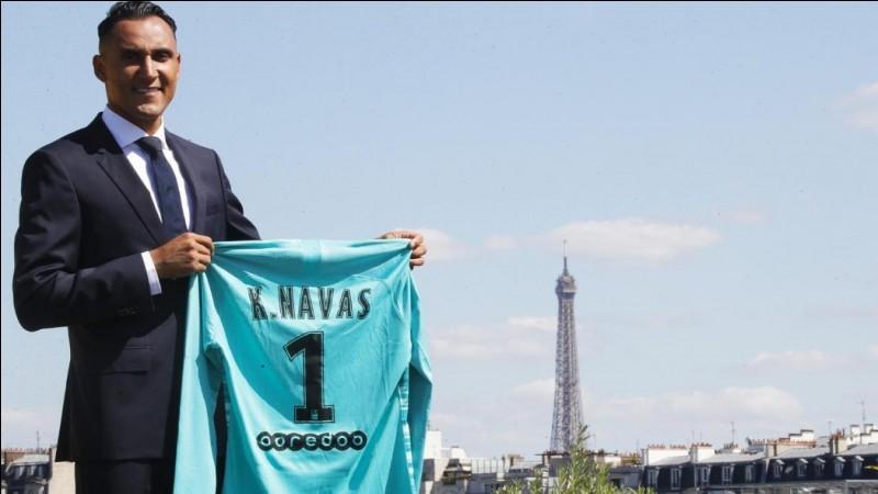 Pour combien d'années, Keylor Navas a-t-il signé au PSG ?