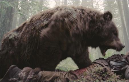 Un film de 2016 avec Leonardo DiCaprio dans lequel il y a un ours (dans une scène célèbre du film). Quel est ce film ?