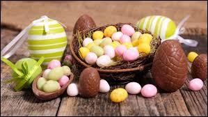 Que cherchent les enfants pendant un lundi de Pâques ?