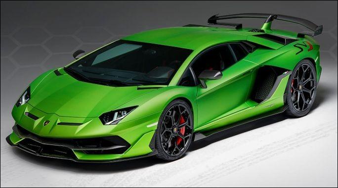 Quel est le modèle de cette Lamborghini ?