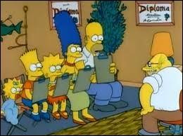 """Dans """"Simpsonothérapie"""", que vend Homer pour amener sa famille se faire soigner ?"""